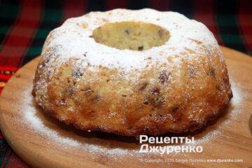 Готова страва сирний кекс