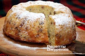 Фото рецепта творожный кекс