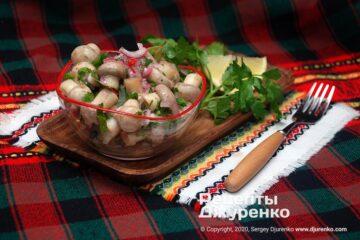 Фото рецепта маринованные шампиньоны