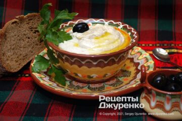 Фото рецепта тарамасалата – закуска з рибної ікри