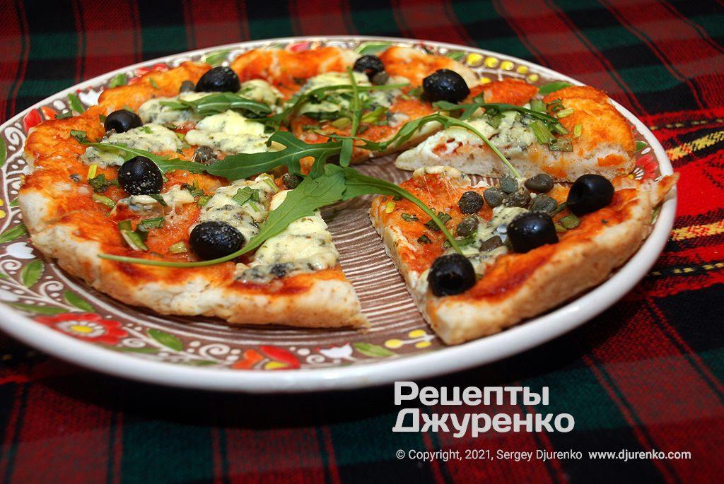 Готова страва Швидка піца.