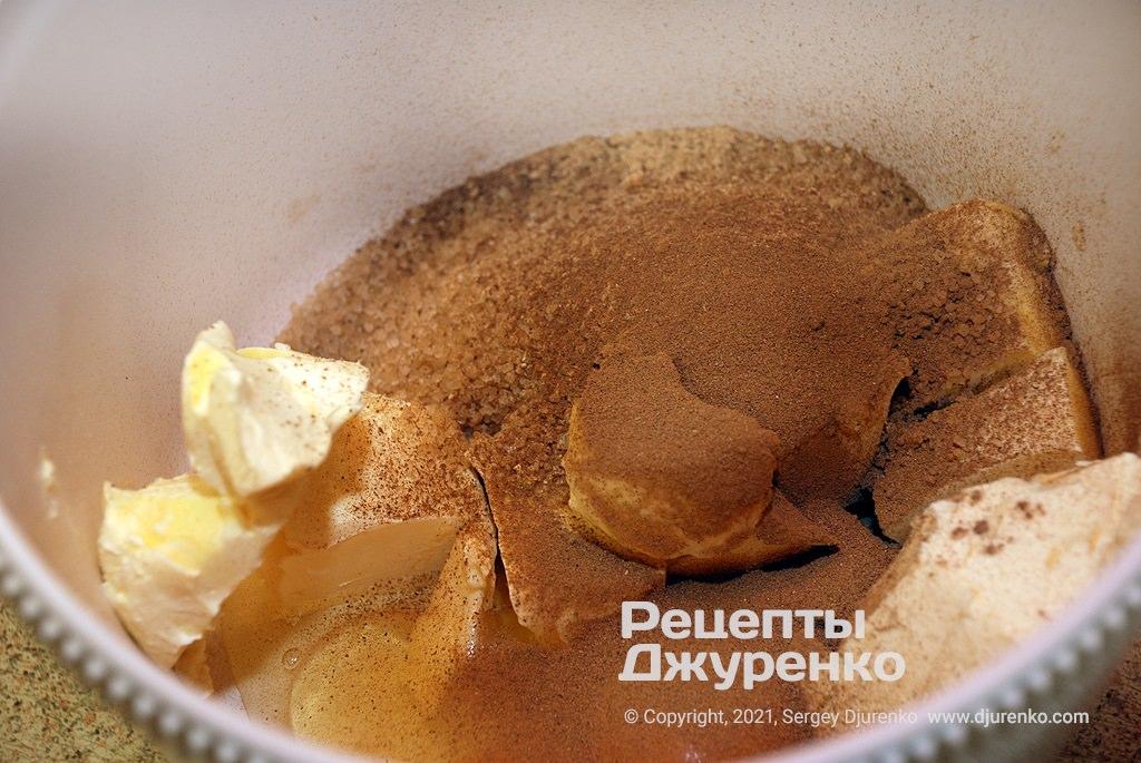 Підготовка основи для тіста.
