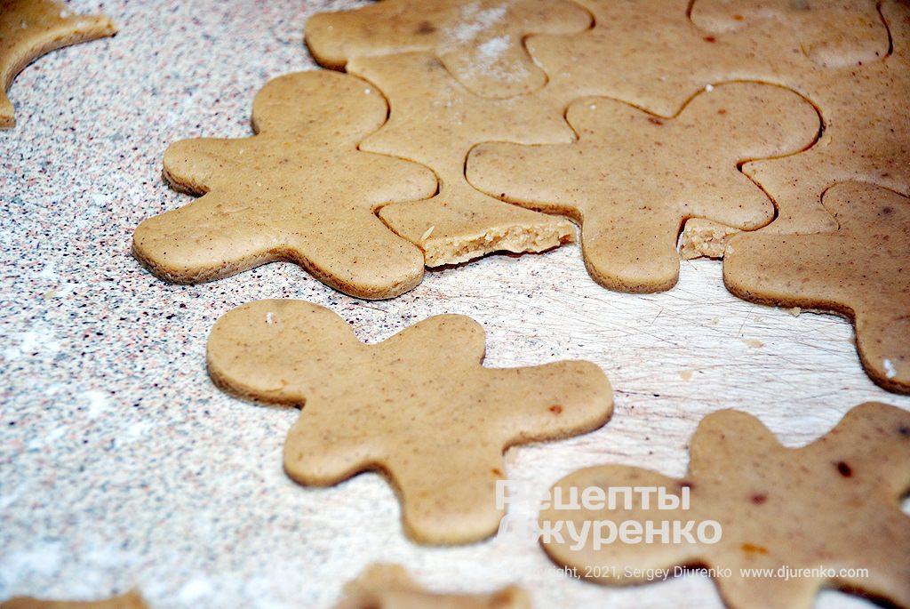 Заготовки для выпечки печенья.