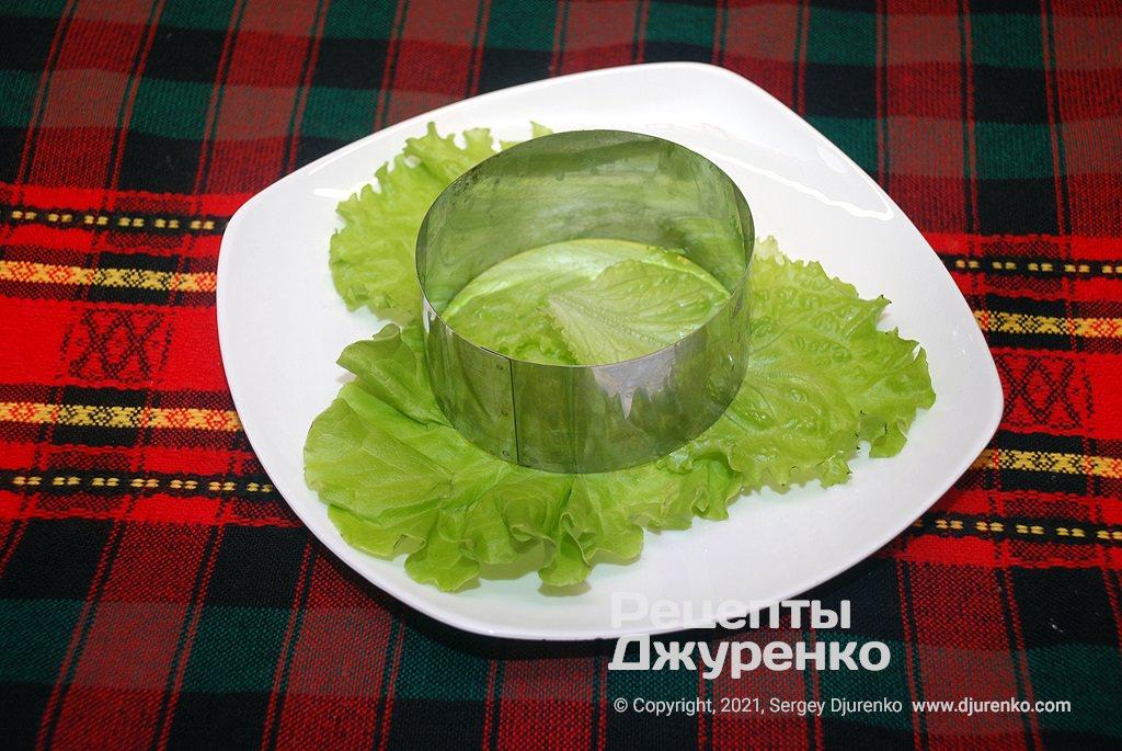 Тарелка для закуски.
