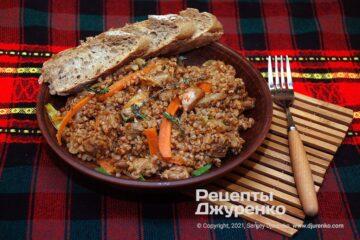 Фото рецепта гречка по-купечески