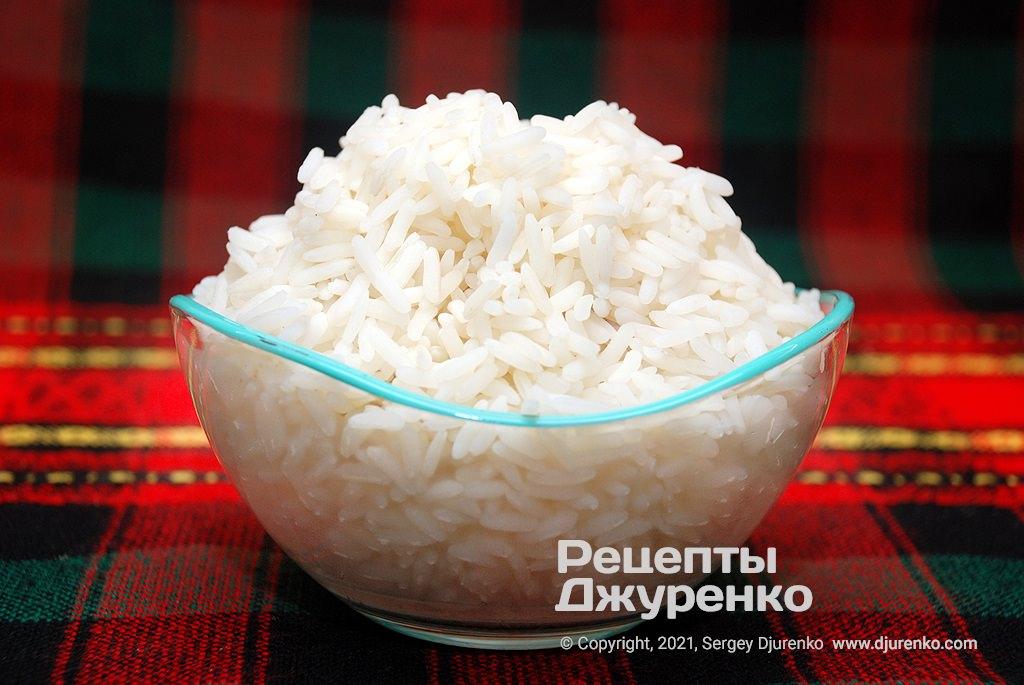 Недоварений рис.