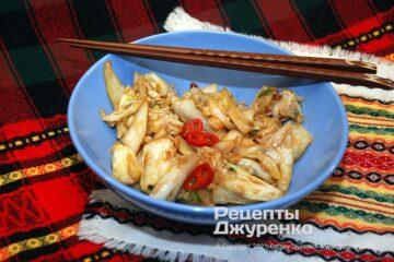 Фото рецепта пекинская жареная капуста по-китайски