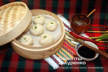 Фото рецепта баоцзи – китайськи парові булочки