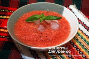 Фото рецепта летний суп