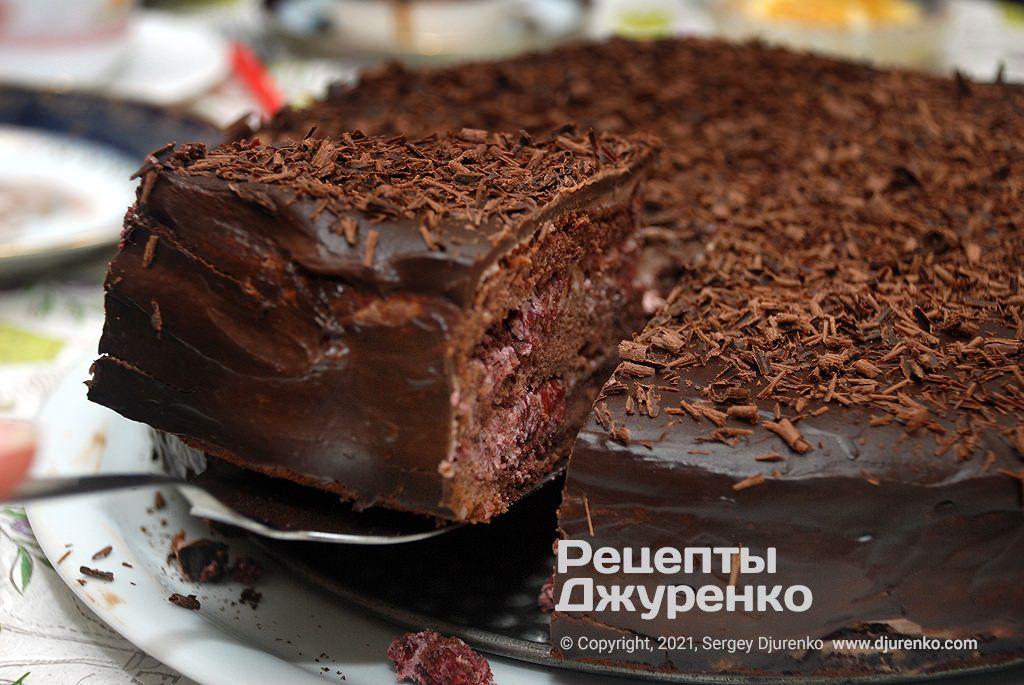 торт П'яна вишня