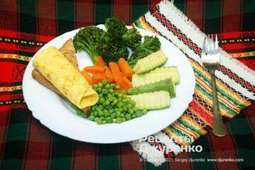 Фото рецепта овощи на пару