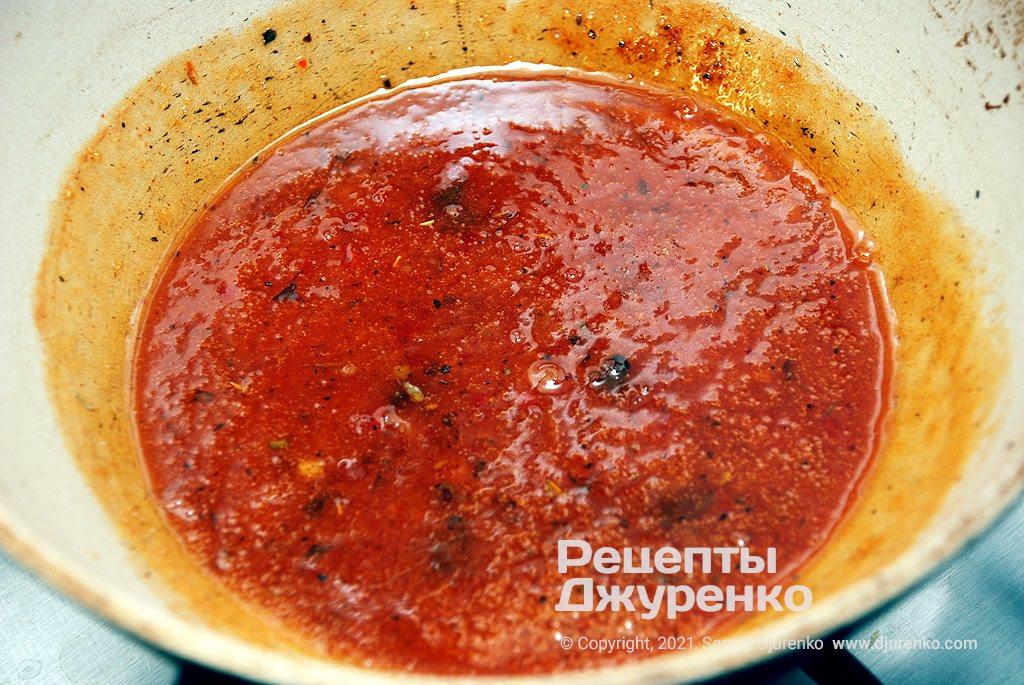 Готовий солодко-гострий соус для закуски.