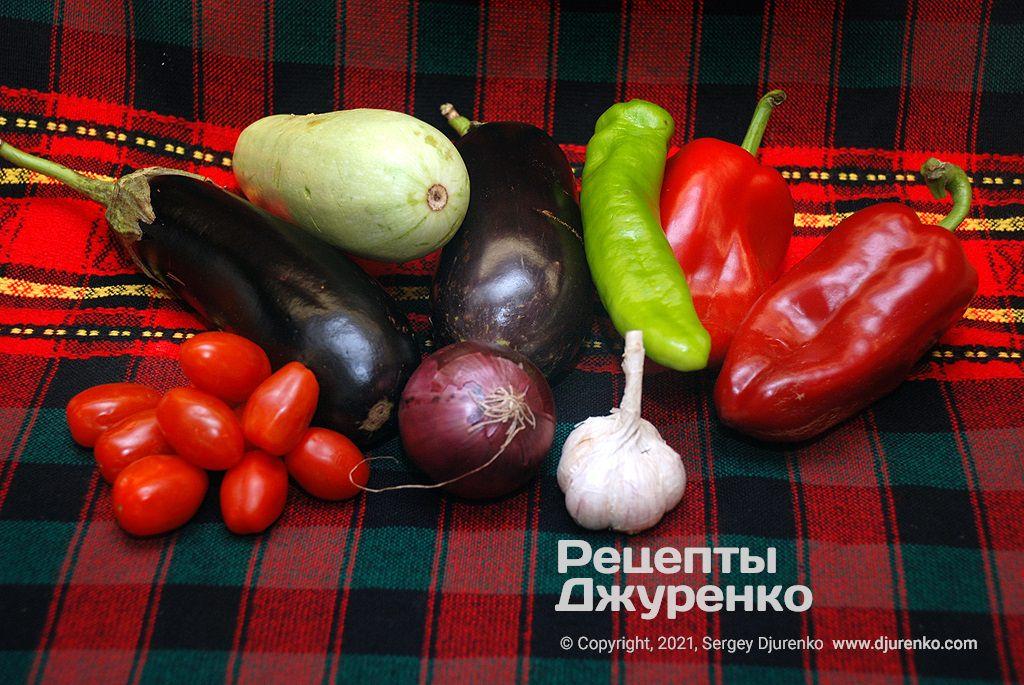 Кращі овочі для салату.