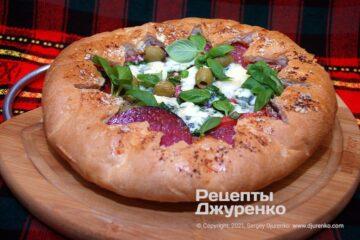 Фото рецепта проста піца